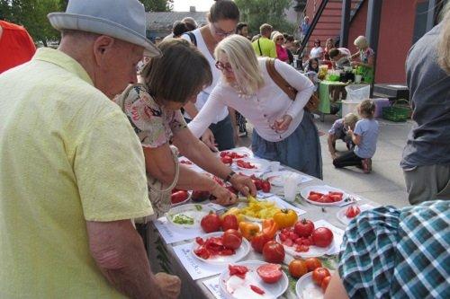 Pomidorų augintojų šventė Alytuje