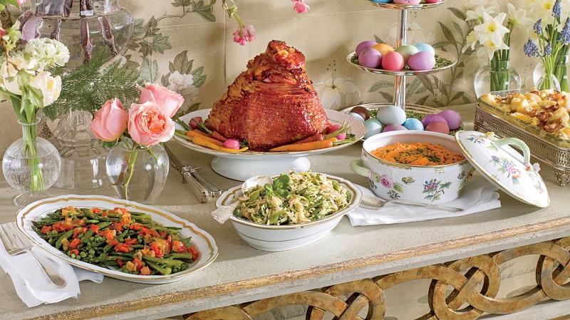 Tradicinis Velykų stalas – ne vegetarams