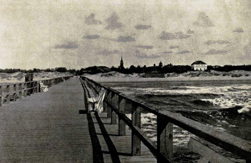 Prieškario Palanga – paplūdimyje tik 5 žmonės