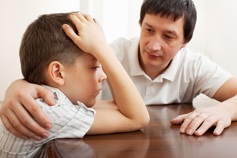 Gyvenimas po skyrybų – skurdesnis ir be tėčio