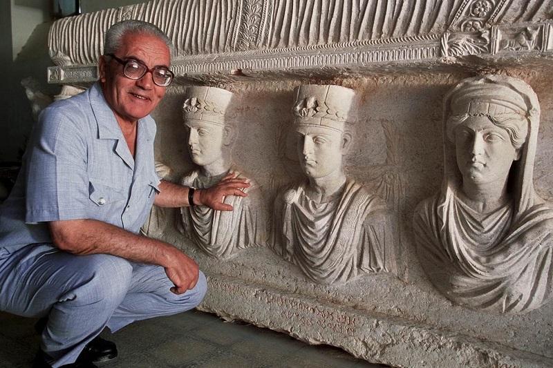 Palmyra: fanatikai naikina pasaulio paveldo perlą