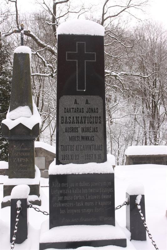 AUDIO: Jonas Basanavičius. Lietuviška legenda