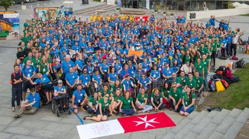 Maltiečių rengiama neįgalaus jaunimo stovykla