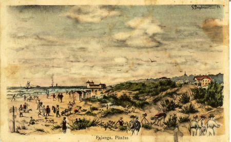 Atostogos Palangoje prieš 80 metų