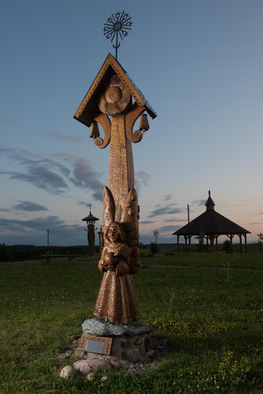 Dar viena ypatinga vieta - Angelų kalva prie Trakų