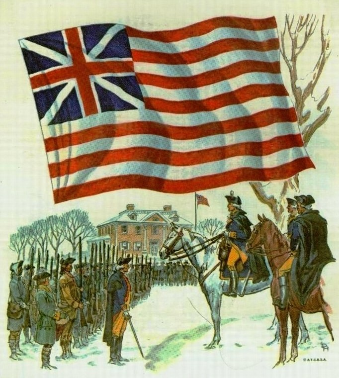 JAV vėliavos istorija: nuo 13 iki 50 žvaigždžių