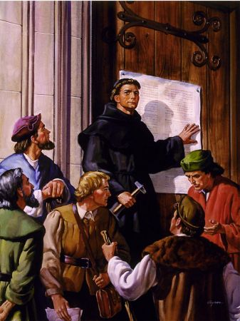 Reformacijos pradžia: tezės ant bažnyčios durų
