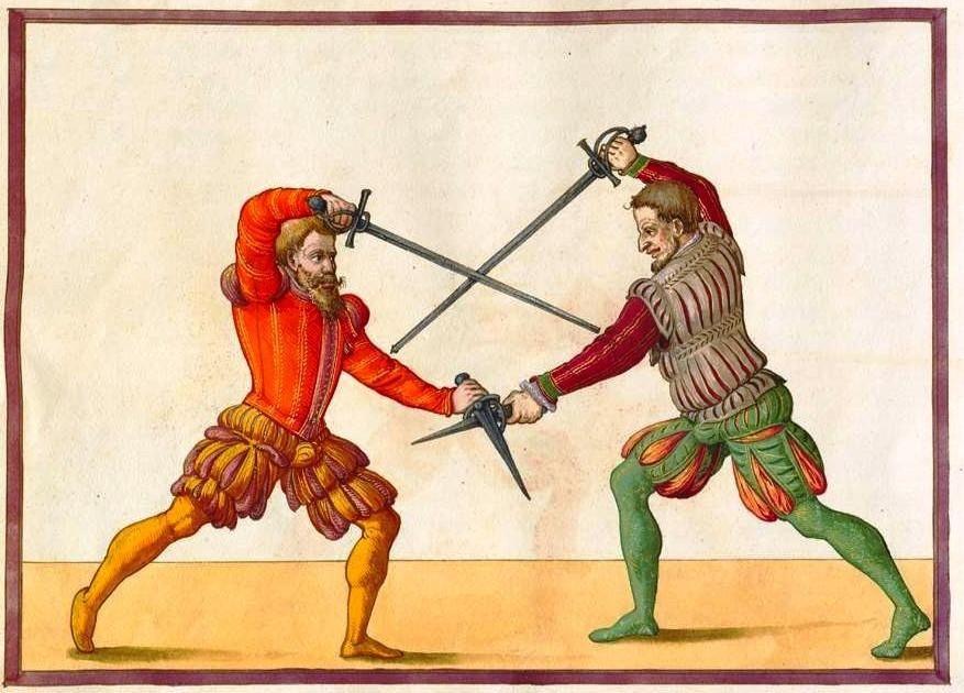 Kruvina dvikovų tradicija neaplenkė ir Lietuvos