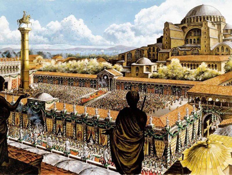 Šv. Sofijos soboras – Bizantijos didybės simbolis
