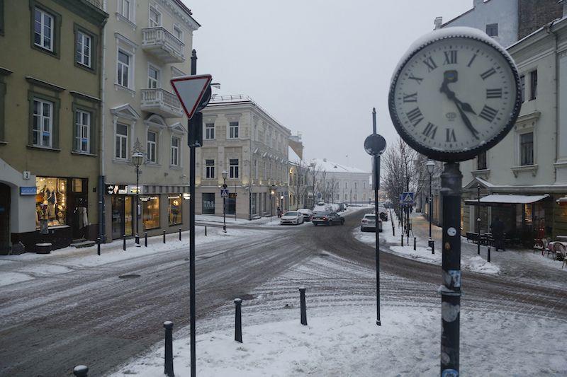Tokia jau žiema: džiaukitės bent sniegą pamatę