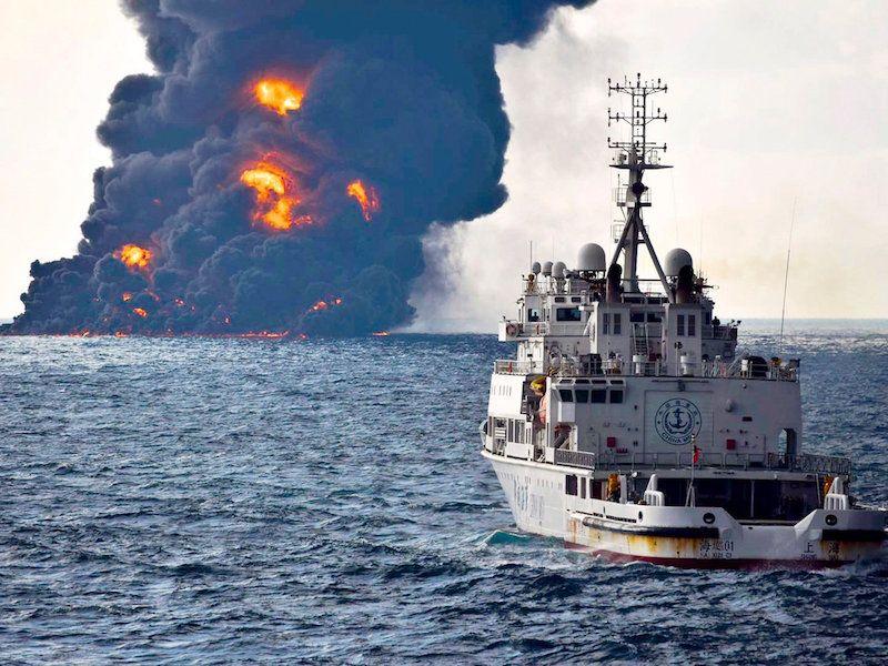 Tanklaivio avarija vėl papildė juodąją statistiką