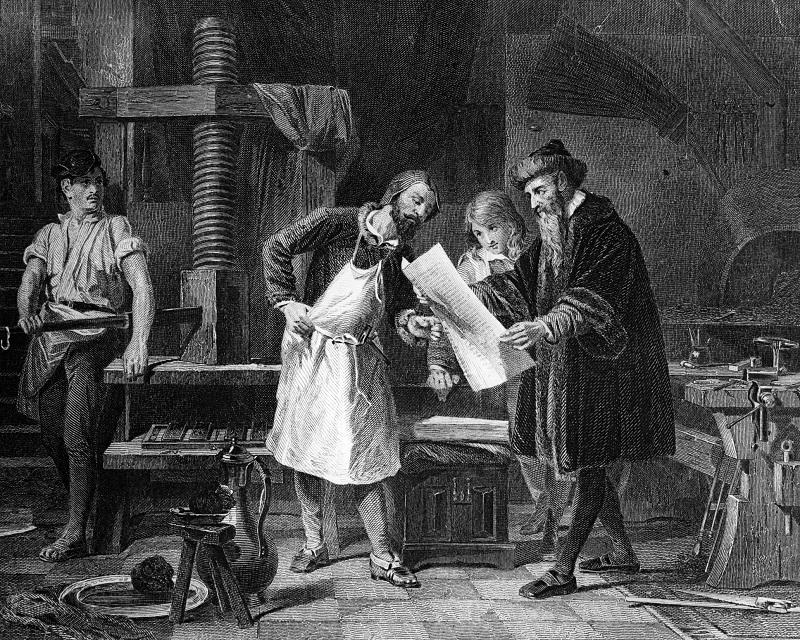 Atsirasti spausdintam žodžiui padėjo ir vyndariai