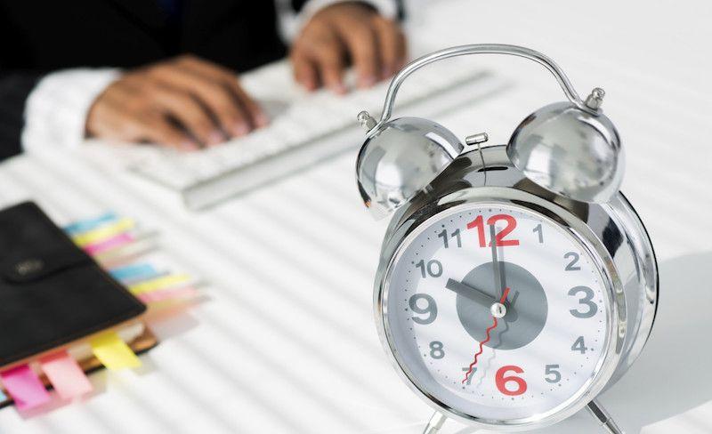 Kas ilgiausiai dirba, tas mažiausiai padaro?
