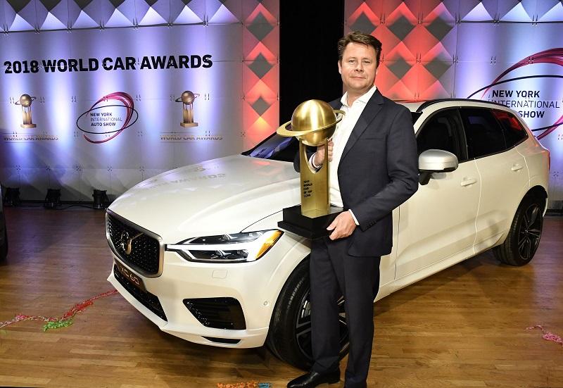 """Geriausiu 2018-aisiais pripažintas """"Volvo XC60"""""""