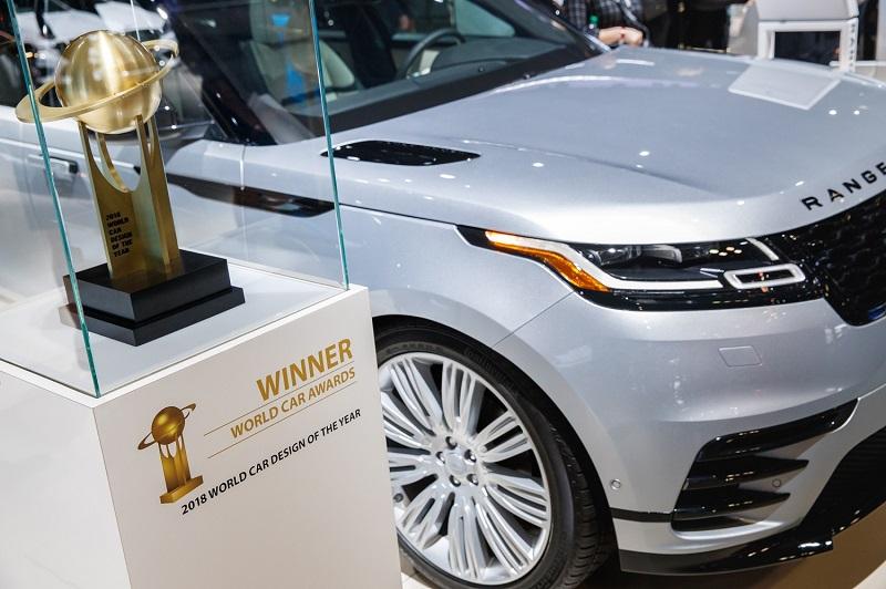 """""""Range Rover Velar"""" - gražiausias automobilis"""
