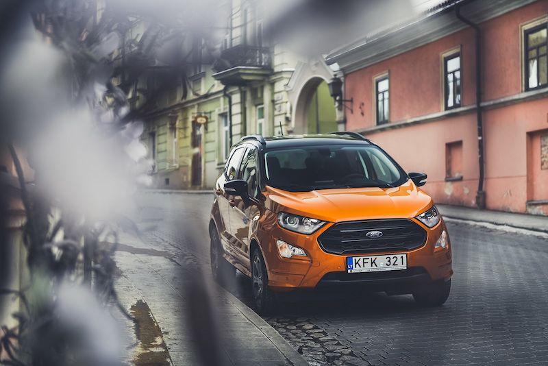 """Didžiausia """"Ford"""" naujiena """"EcoSport"""" – jau Lietuvoje"""