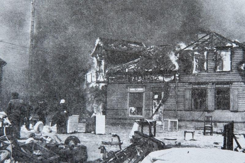 """""""Savaitė"""": prieš 80 metų sudegė Palanga"""