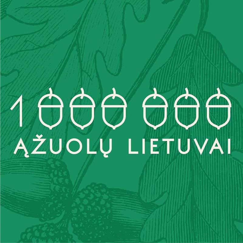 Milijonas ąžuolų Lietuvai: registras vėl pasipildė