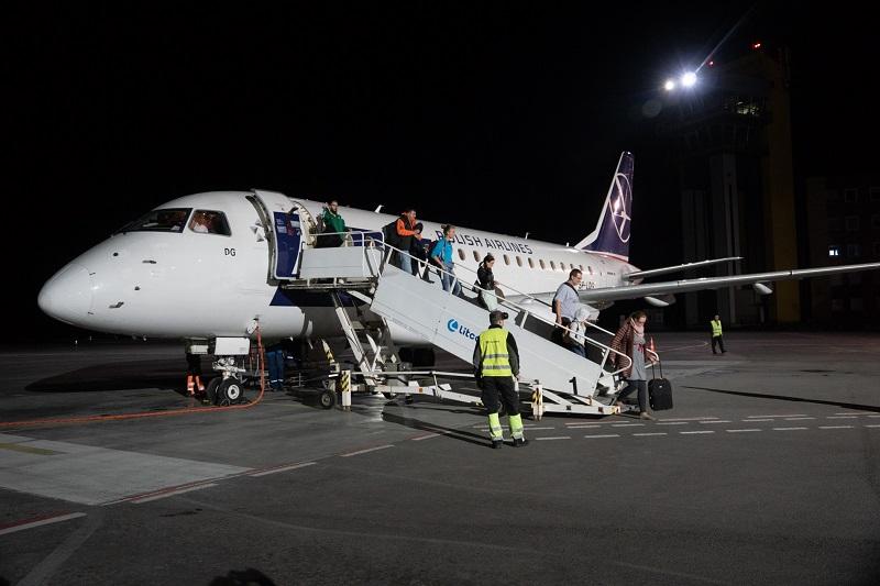 """""""LOT"""" skrydžiai sujungė Kauną ir Varšuvą"""