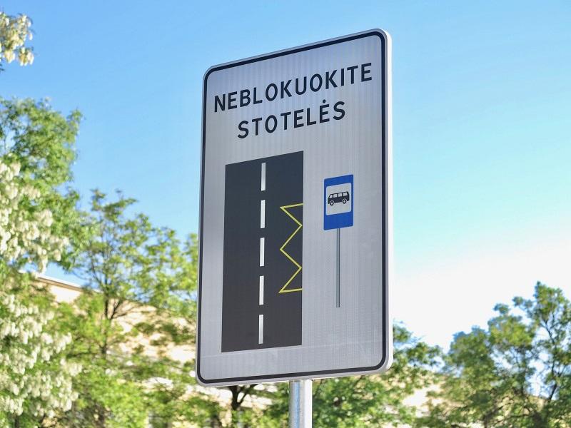 Vilniaus vairuotojus ragins neblokuoti stotelių