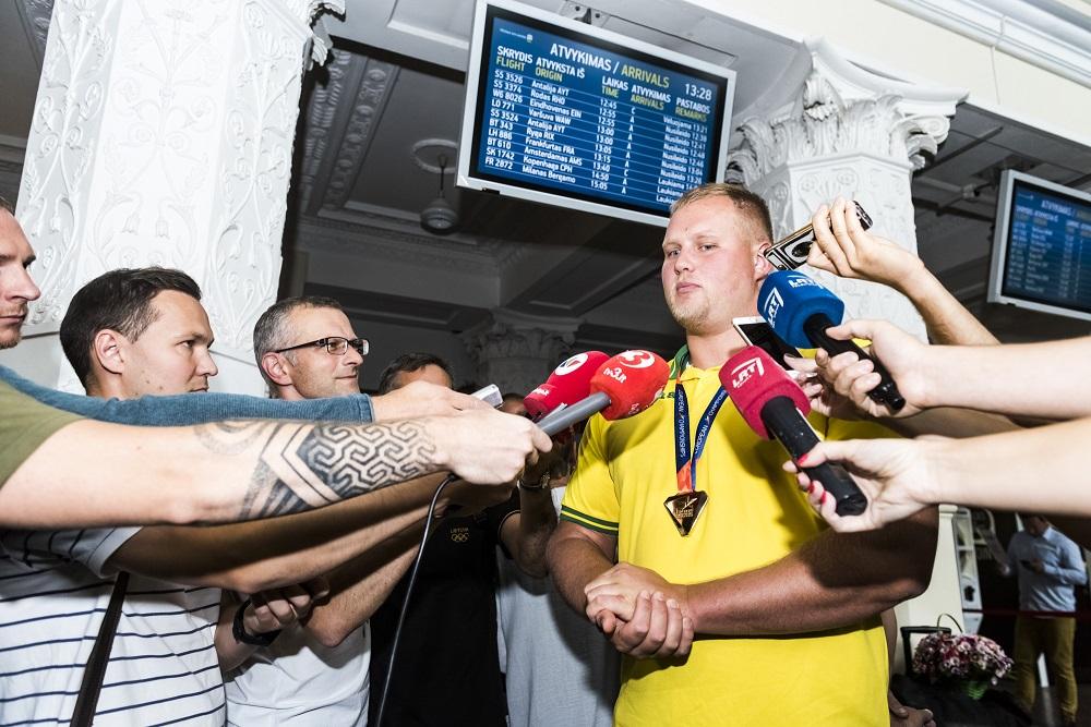 "Europos čempionas A.Gudžius: ""Niekada nebūsiu Alekna"""