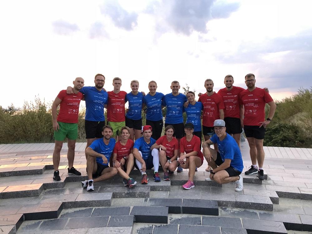 """""""Pažink Lietuvą"""" maratono dalyviai įveikė 450 kilometrų"""