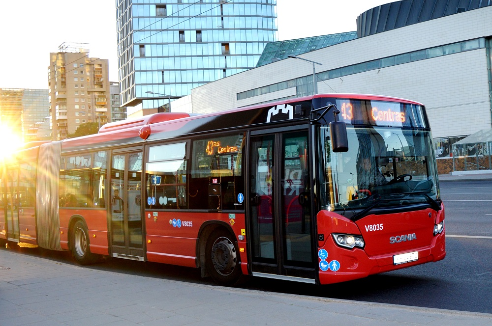 Sostinės autobusų parkas pasipildys 135 naujais autobusais