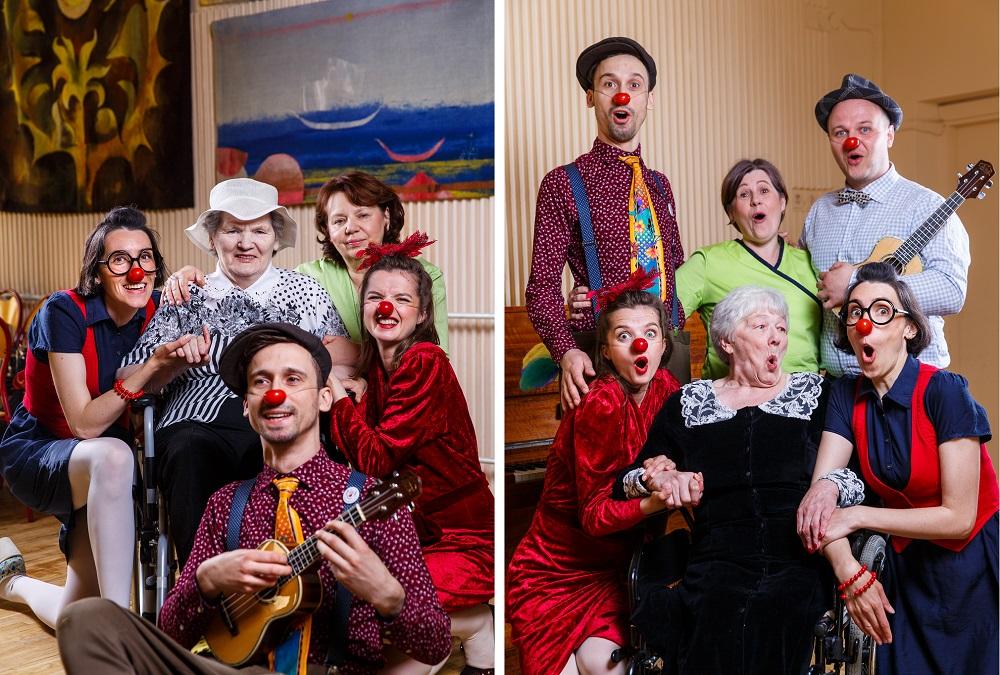 Stebuklinga šypsenų terapija: džiugios emocijos senjorų socialinės globos namuose
