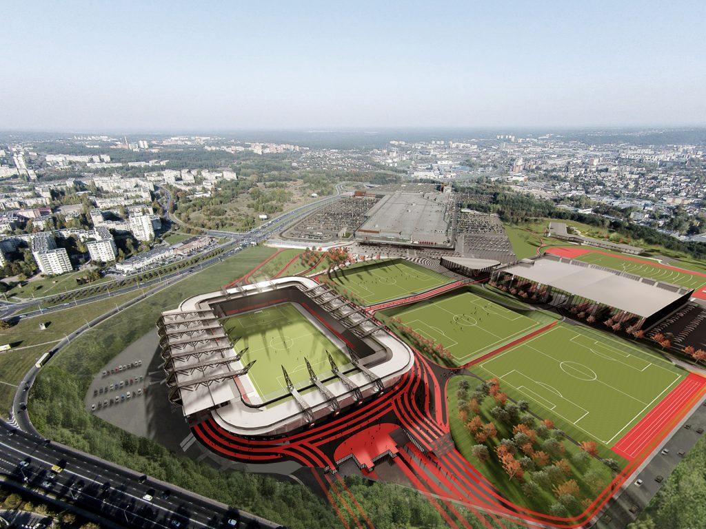 Derybas su koncesininku užbaigusi Vilniaus savivaldybė uždegė žalią šviesą Nacionalinio stadiono statyboms