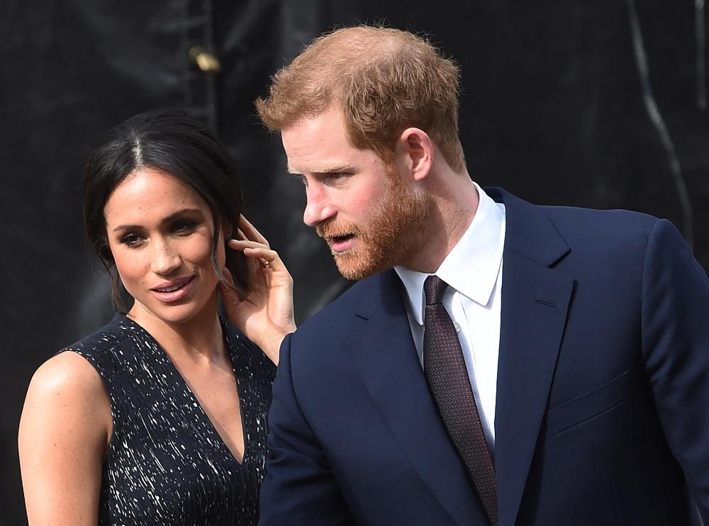Karališka šeima pagausės: Princas Haris su žmona Meghan laukiasi pirmagimio