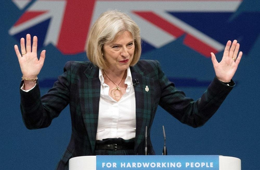 """Didžiosios Britanijos ministrė pirmininkė T.May: """"Brexit"""" susitarimas baigtas 95 proc."""