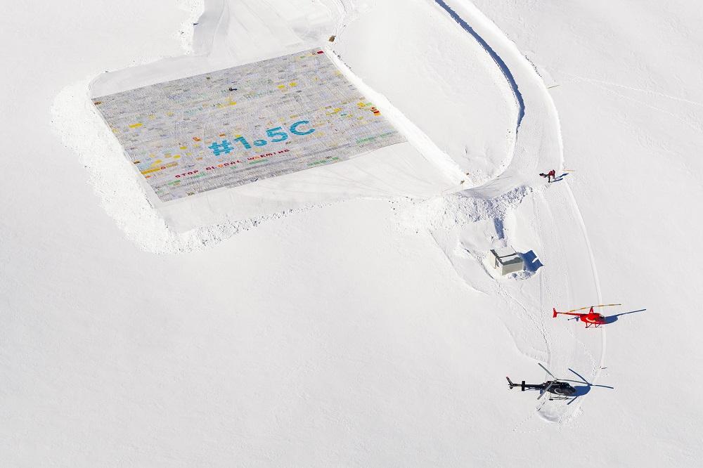 Rekordas: Šveicarijoje sudėliotas pašto ženklas iš 125 tūkst. pašto atvirukų