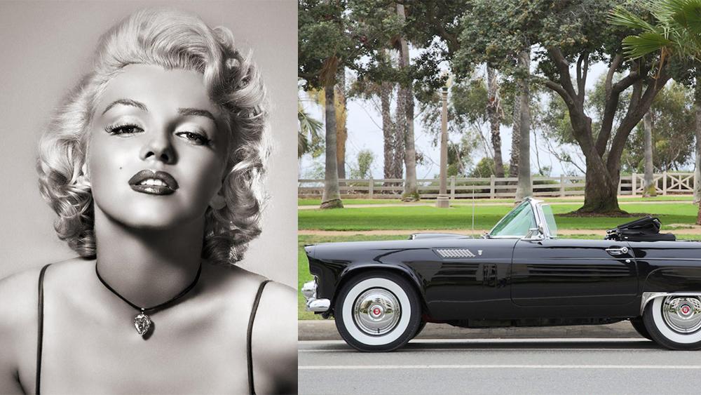 Holivudo ikonos M.Monroe automobilis aukcione parduotas už beveik 500 tūkst. dolerių