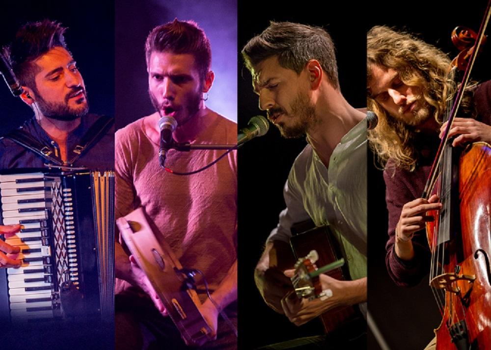 """Išskirtinis italų grupės """"Domo Emigrantes"""" koncertinis turas"""