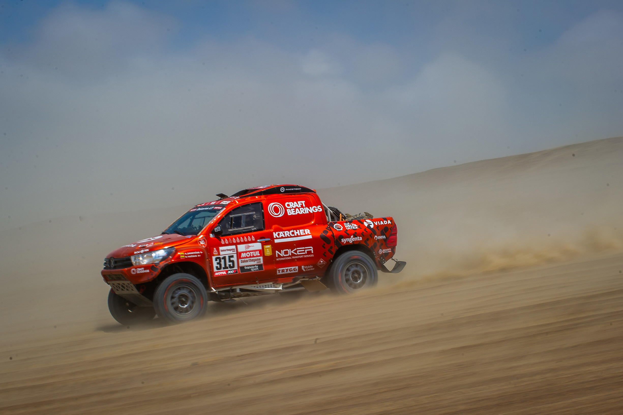 Lietuviai Dakare: septintajame etape trys lietuvių ekipažai - tarp 23 greičiausių