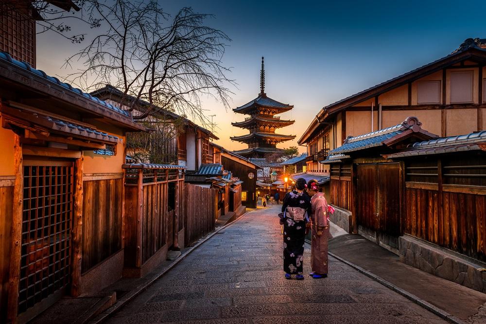 Pernai Japonijoje apsilankė rekordinis turistų skaičius