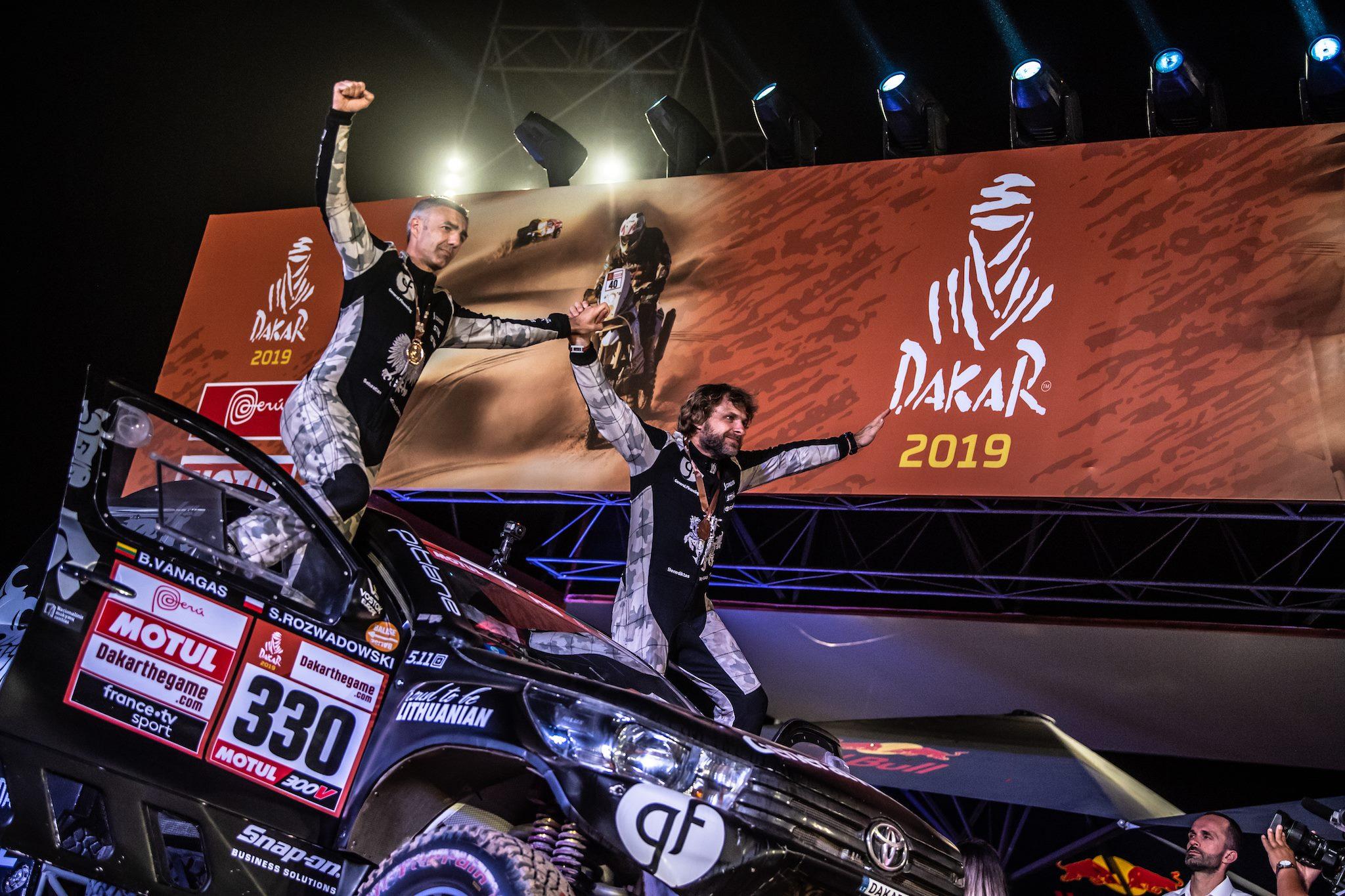 Lietuviai Dakare: rekordinis B.Vanago pasiekimas ir nedaug atsilikęs V.Žala