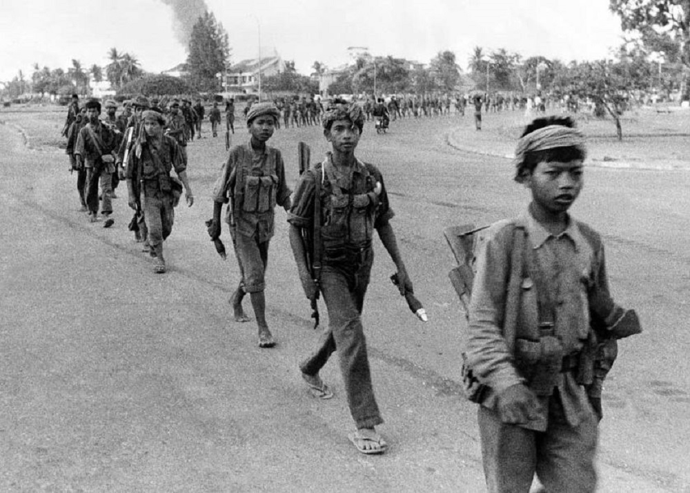 Raudonieji khmerai savo šalį pavertė pragaru