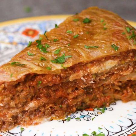 Savaitgalio receptas mėgstantiems eksperimentuoti: kopūstų lazanija (video)