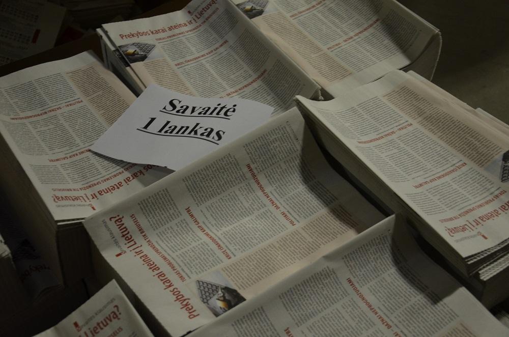 """""""Savaitės"""" 20-metis: nuo redakcijos iki skaitytojų namų"""