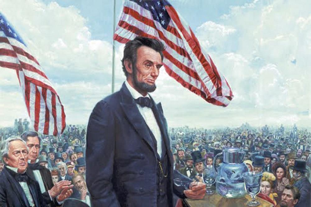 Įdomioji istorija: Abrahamas Linkolnas – didis žmogus, gimęs mažoje trobelėje