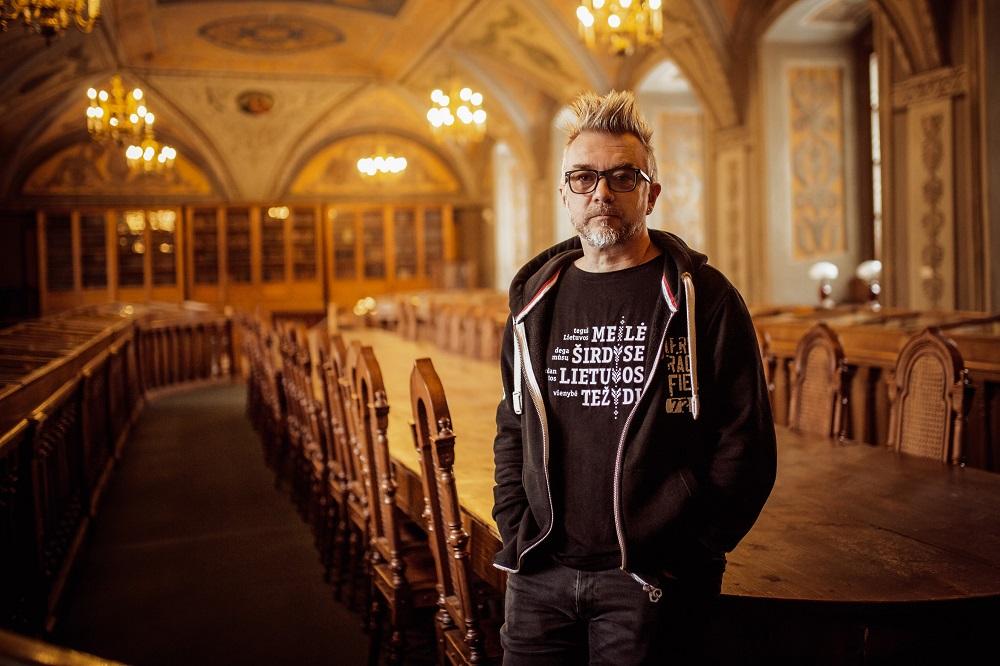 """Andrius Mamontovas: """"Muzikiniai albumai, tam tikra prasme, irgi yra knygos"""""""