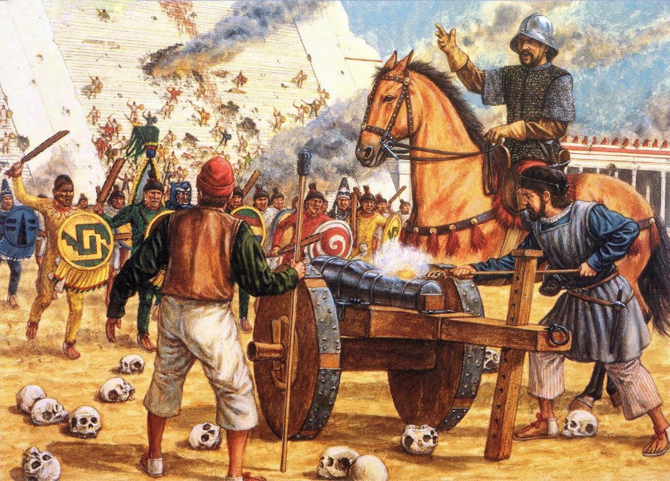 Kaip saujelė ispanų parklupdė didžią civilizaciją