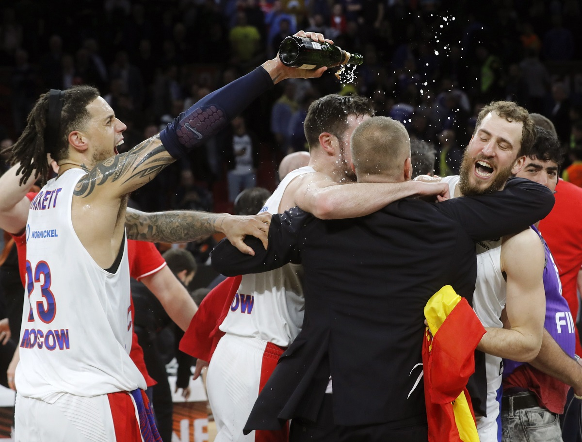 Eurolygos kulminacija: čempionais tapo CSKA, žalgirietis išrinktas į geriausią sezono komandą