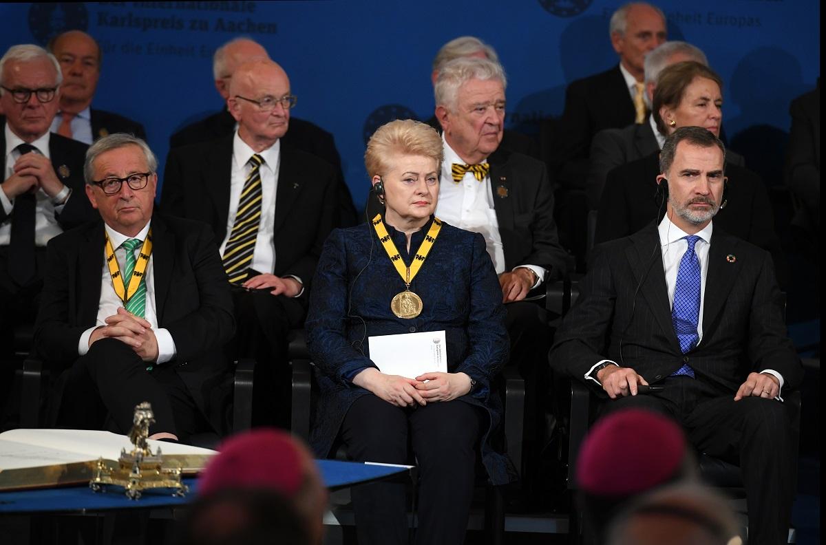 Lenkija nenori matyti D.Grybauskaitės aukštuose Europos Sąjungos postuose