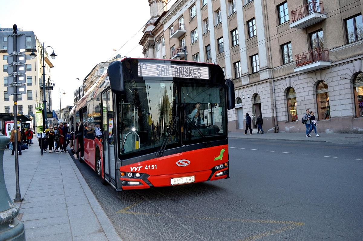 Nuo birželio pabaigos vilniečių lauks pokyčiai viešojo transporto tvarkaraščiuose
