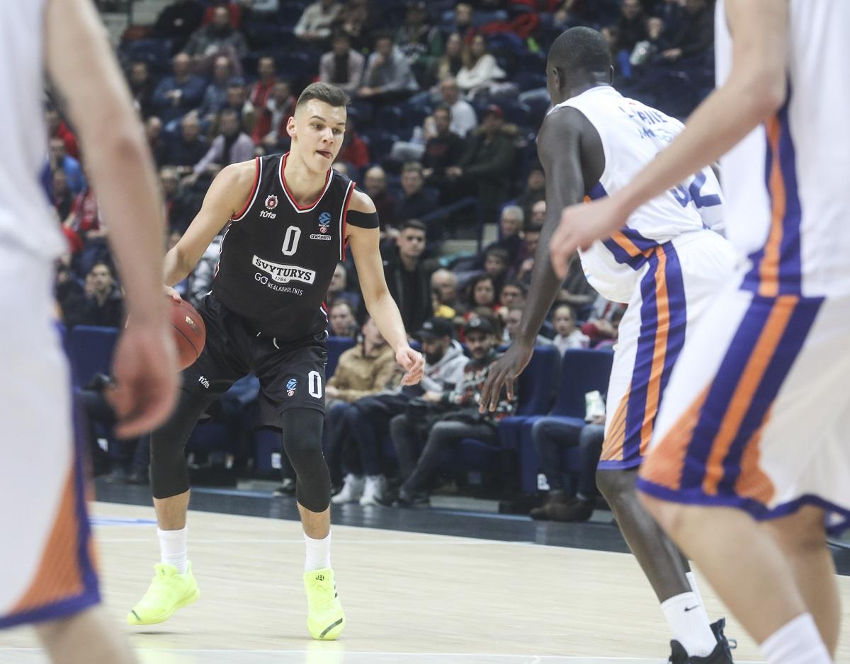 Lietuviai išgirdo savo pavardes NBA naujokų biržoje