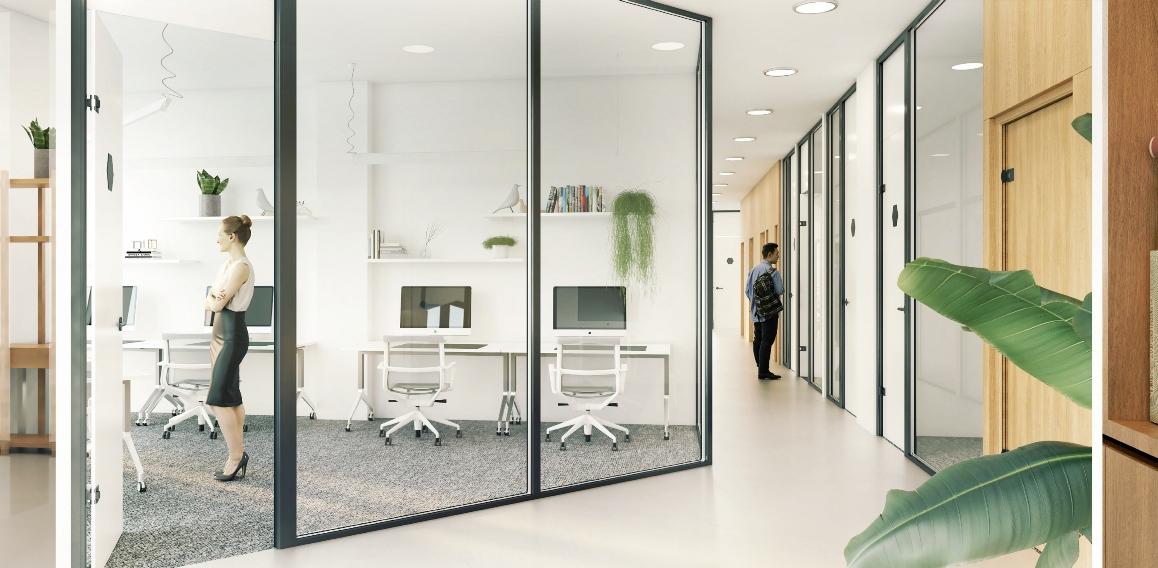 Be kokių elementų neįsivaizduojama moderni ir produktyvi darbo erdvė?