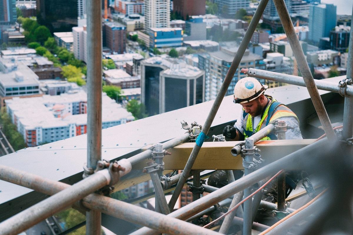 Didžiausia grėsmė darbuotojams – statybų sektoriuje