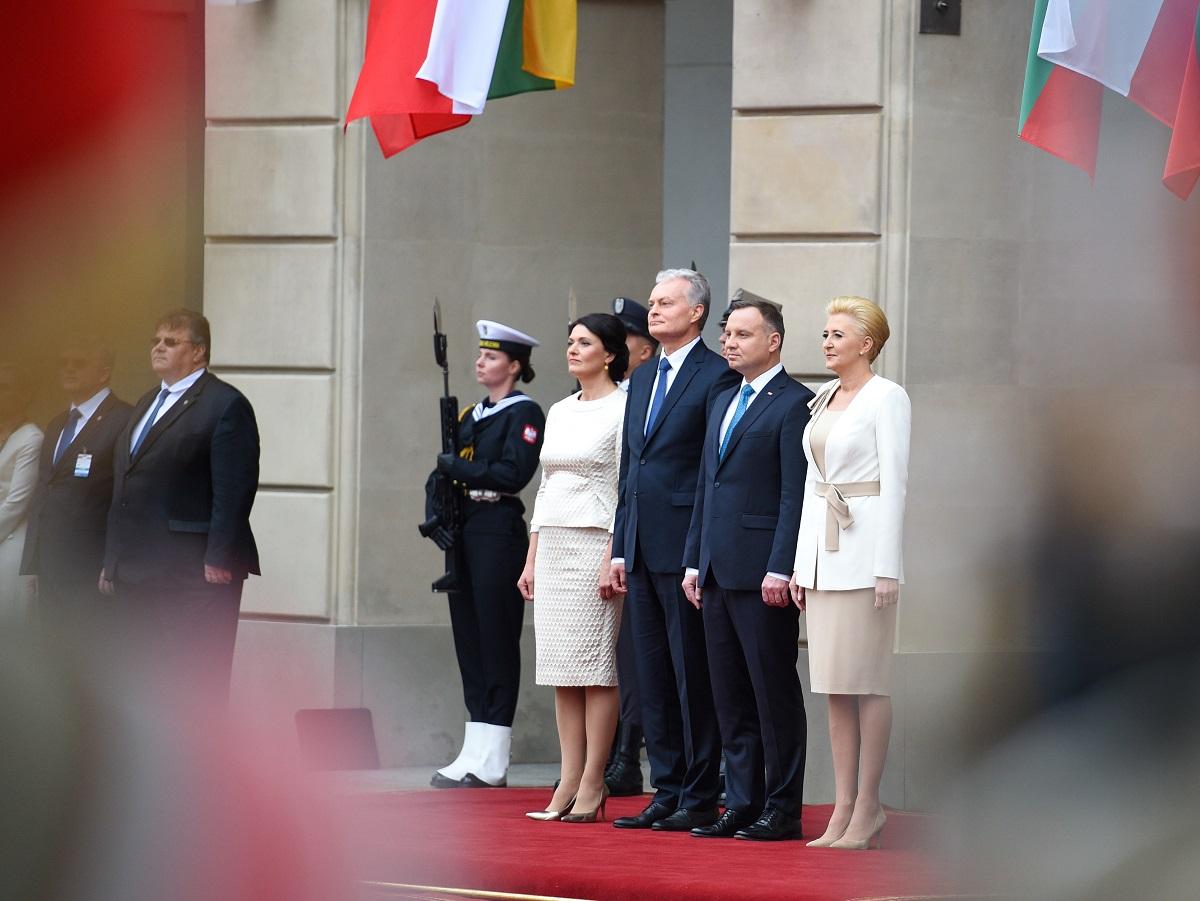 "G.Nausėda: ""Lenkiją laikome strategine Lietuvos gynybos sąjungininke"""